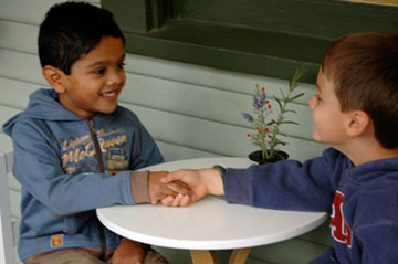 Grace and Courtesy More Than A Hand Shake  Montessori Tides