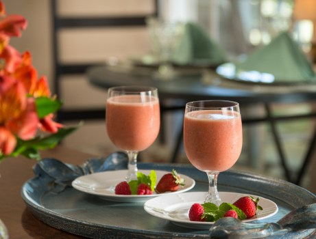 Breakfast Smoothie at The Montford Inn, a Norman Oklahoma Bed and breakfast and cottages place to stay in Norman