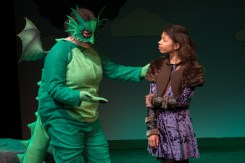 Dragon (Cassandra Redding) and Charity (Jade Fraction). Photo Credit Nicole Albee.