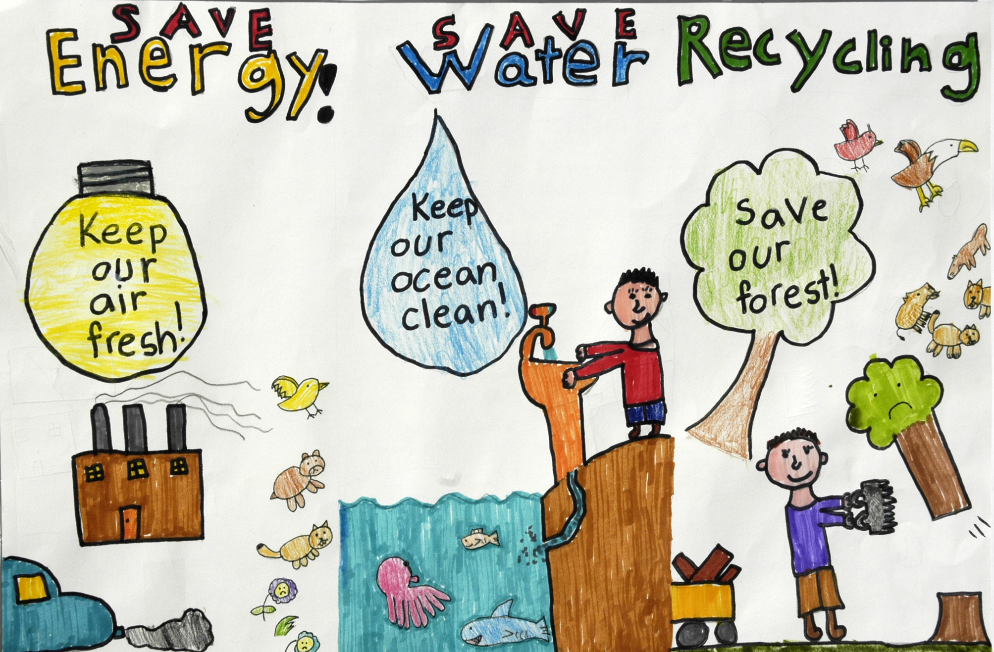 Energy Conservation Projects For School Students