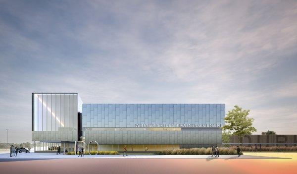 Durham College Skills Training Centre Concept Montgomery