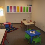 One of the toddler rooms