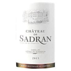 Château Sadran étiquette