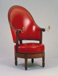revolving easy chair unusual chairs armchair by burling thomas jefferson s monticello