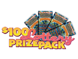 $100 lotto prize pack