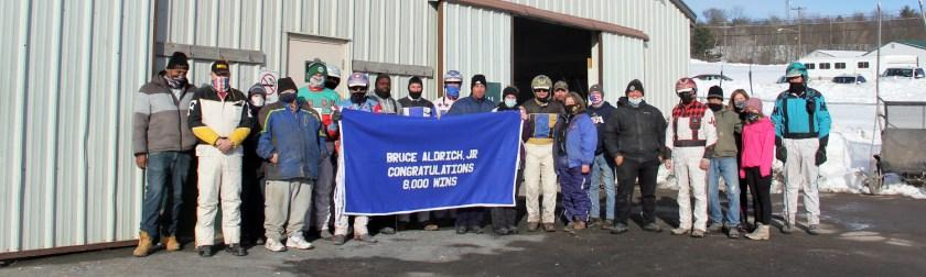 R8 Bruce Aldrich Jr - 8000th win