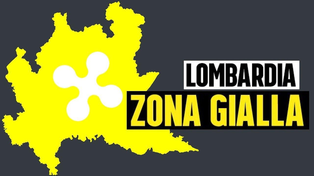 Lombardia in zona gialla dal 26 aprile