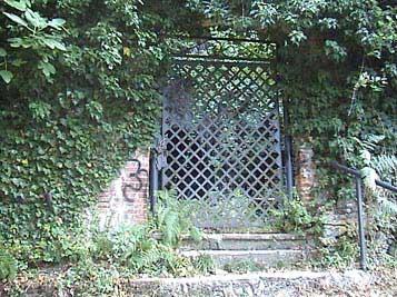 entrata dell'eremo