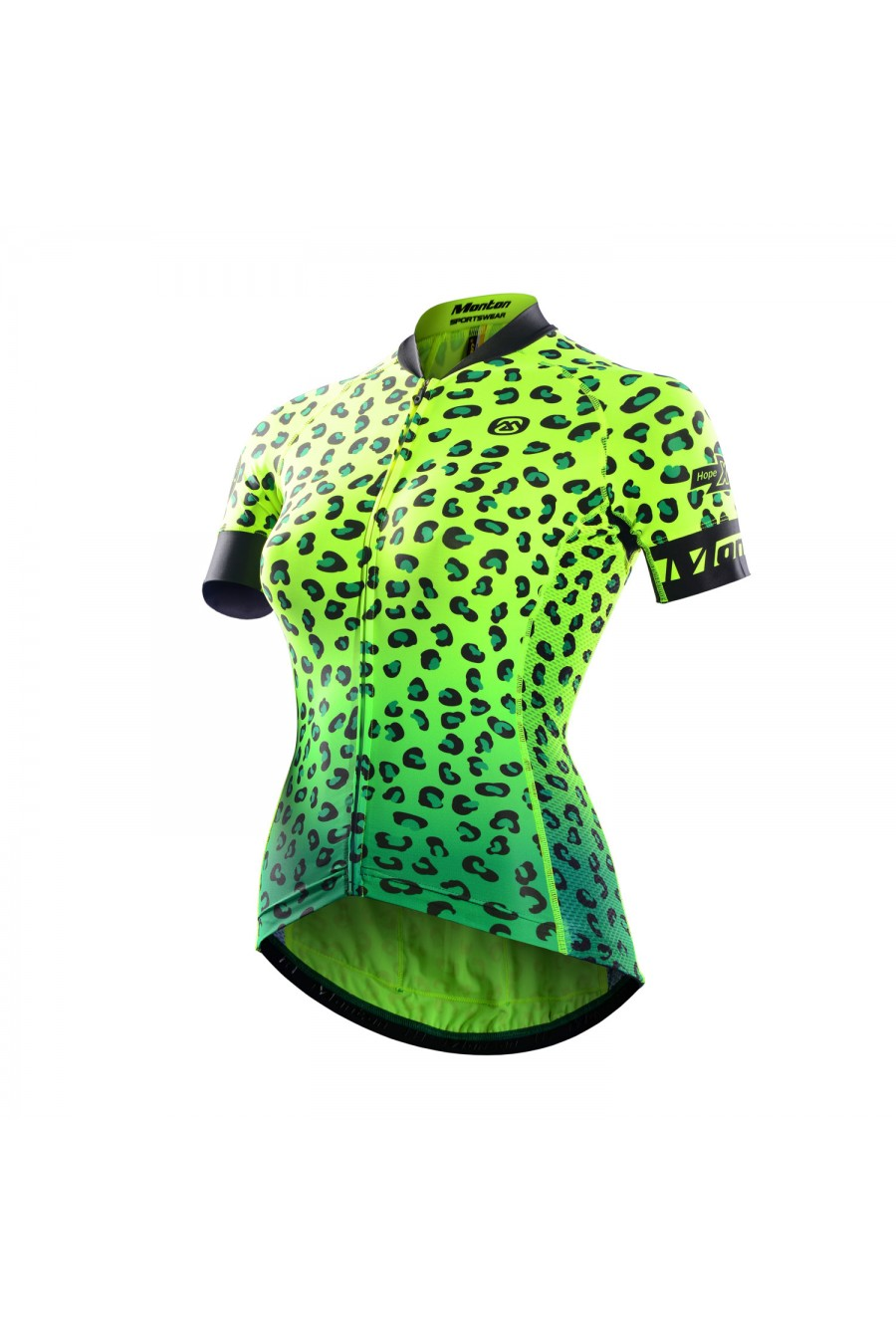 Monton 2016 Womens Short Sleeve Race Fit Fluorescent Cycling Jersey Online Sale