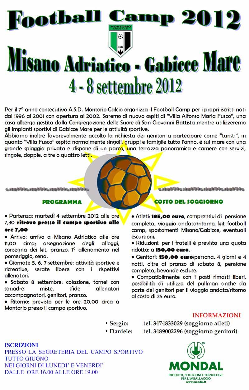 football camp 2012