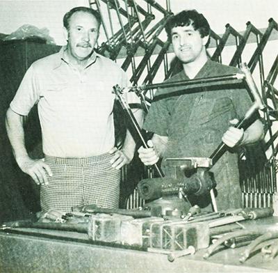 Roland Sahm e Mario Confente