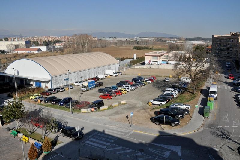 Terrenys on es construirà l'escola Palau d'Ametlla