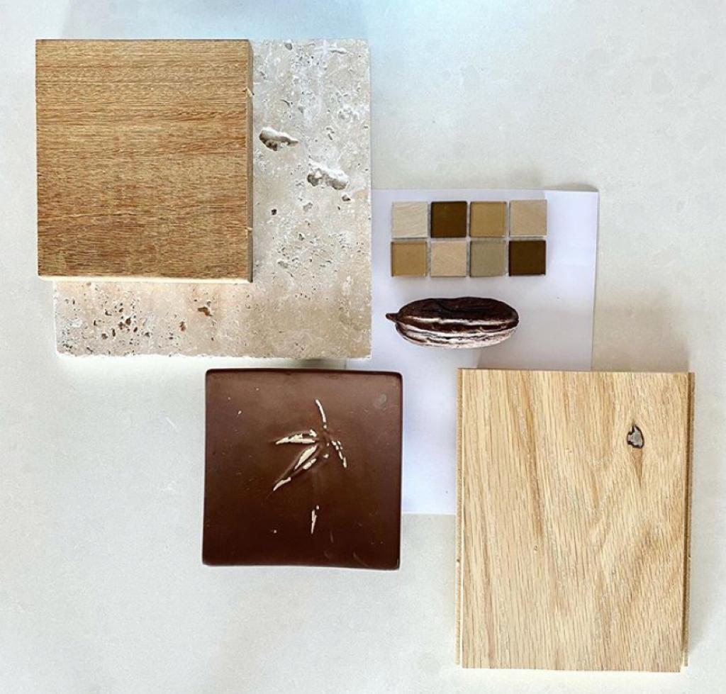 Planche matériaux Salle de bain