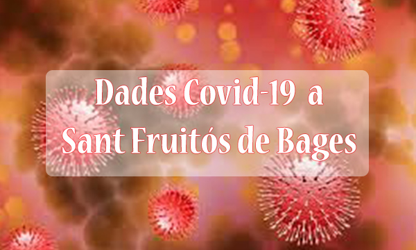Dades COVID a Sant Fruitós de Bages 21 de gener 2021