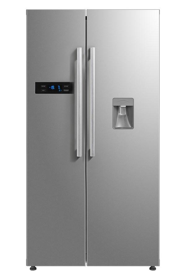 Montpellier M520wdx Side-side Fridge Freezer