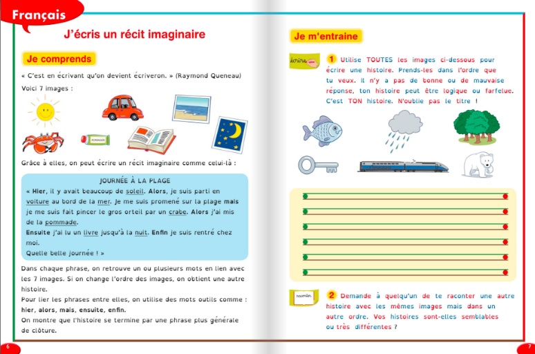 presentation du cahier de vacances special dys Hatier CE2