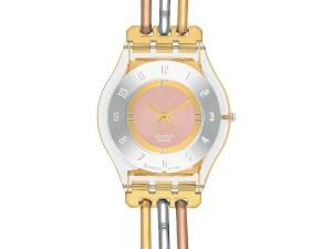 Montre Swatch TRI GOLD (SFK240B) pour FEMME
