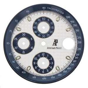 Audemars Piguet Royal Oak Offshore chronographe Cadran Argent et bleu acier 32mm pour 44mm montre homme