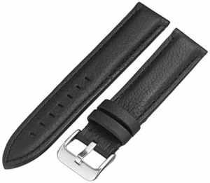 Hadley Roma ms2044ra 20020mm pour Montre en cuir vachette noir