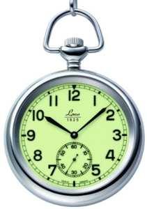 Laco 1925 – 861204 – Montre de poche Homme – Mécanique – Analogique – Bracelet Acier Inoxydable Argent