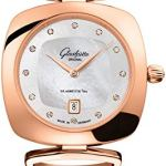 Glashutte Original Pavonina Montre à Quartz pour Femme Or Rose 1-03-01-08-05-14