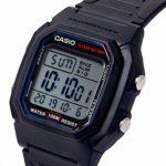 Casio Hommes Digital Quartz Montre avec Bracelet en Résine W-800H-1AVES