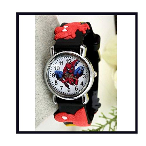 Lot de 3 montres à thème Super Heroe pour anniversaire, style aléatoire