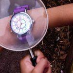 EasyRead Time Teacher ERW-COL-PT Montre d'apprentissage pour enfants – Anglais