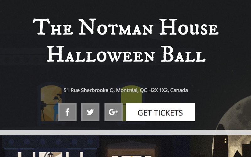 Notman House's spooky Halloween party makes for a helping cause