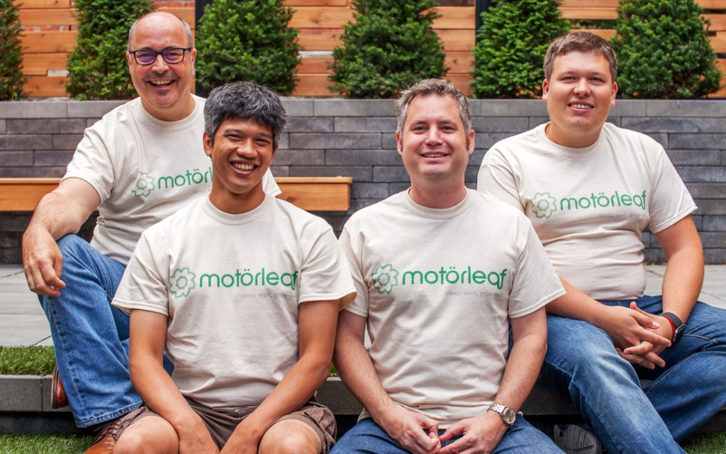 Motorleaf's 'Nest for next-gen agriculture' signs 500 Startups as lead investor