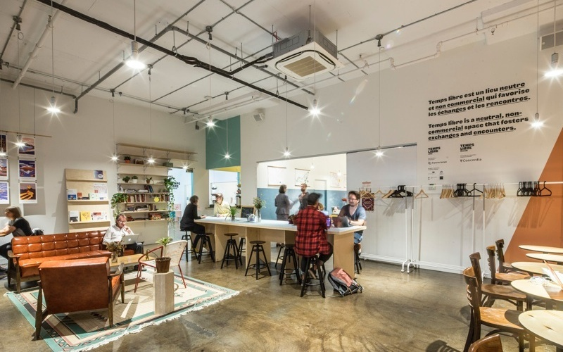 The Coworker: Temps Libre, Montreal's only free full-service coworking space