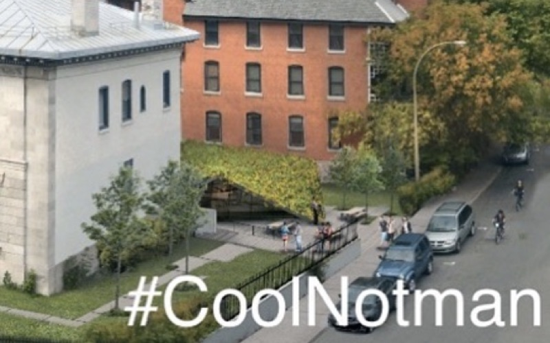 #CoolNotman campaign aims to bring air conditioning to Notman House