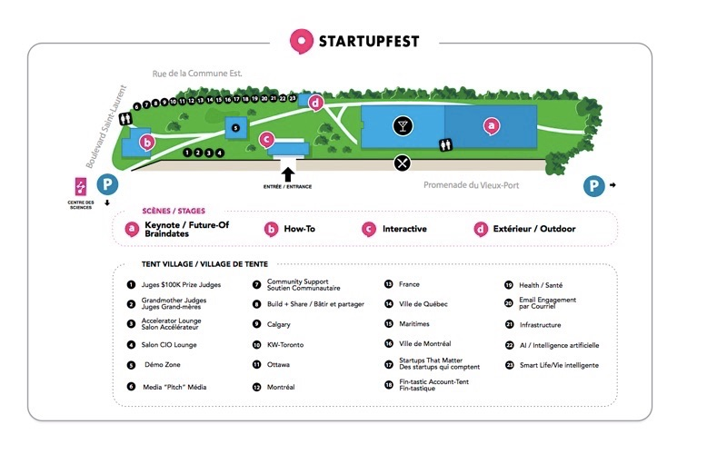 Startupfest update: introducing the 2017 Tent Village and the revamped $100k prize