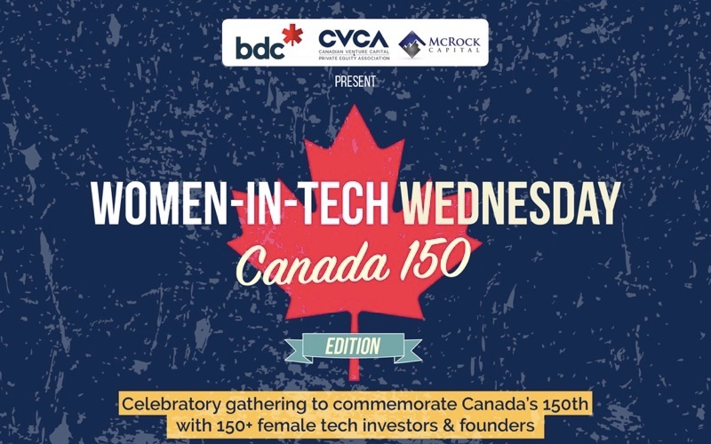 CVCA Women in Tech Wednesday comes to Notman for its Canada 150 edition