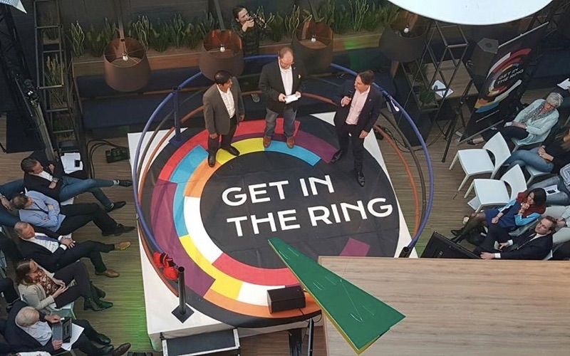 Get in the Ring offers a chance to compete locally and win recognition globally