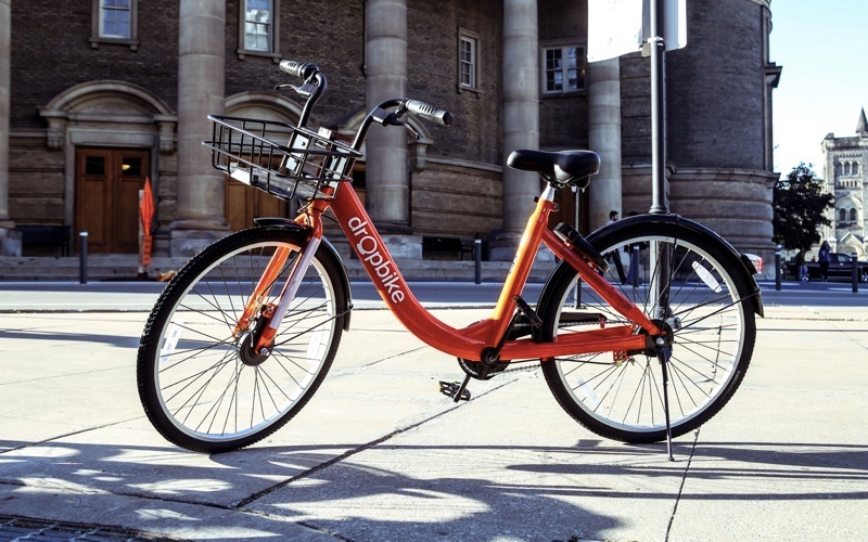 Dropbike tests out dock-less bike sharing in Westmount