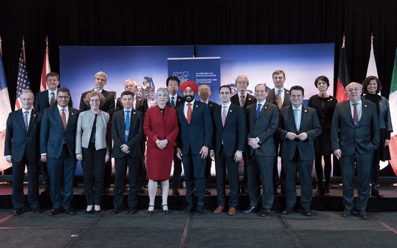 G7 Employment and Innovation meeting focuses on gender parity and AI