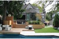 Urban Backyard Patio & Terrace in Hampstead