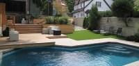 Backyard Pool Decking - Montreal Outdoor Living