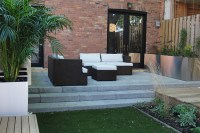 Modern Urban Backyard in Old Montreal - Montreal Outdoor ...