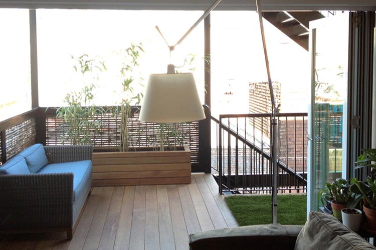 Des ides de design pour un balcon de ville  Montreal Outdoor Living
