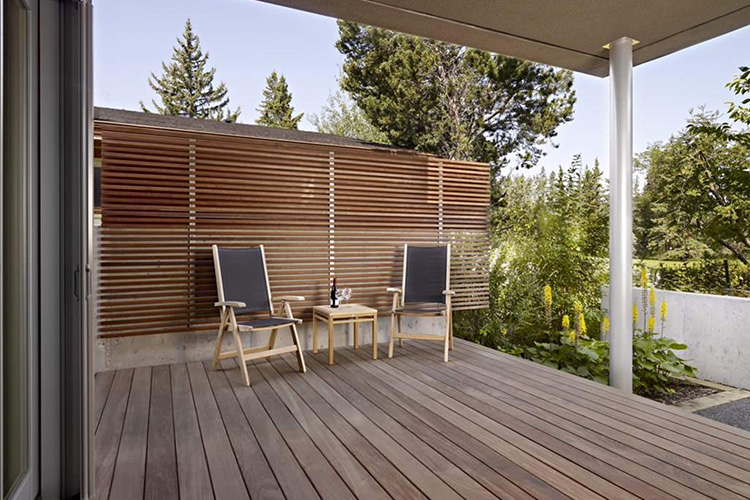 Modern Deck and Deck Railing Ideas