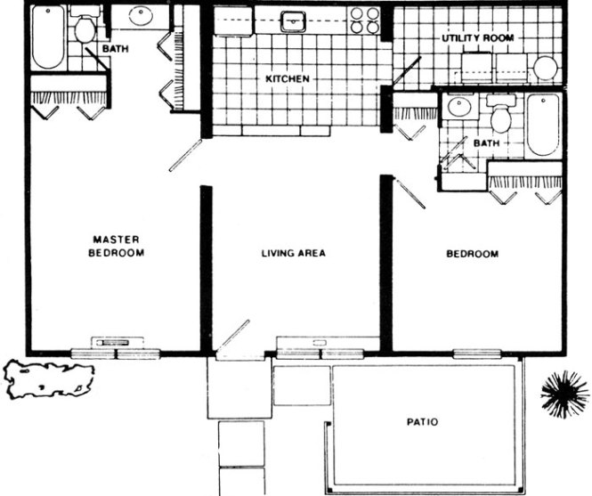 2 Bedroom Apartment For Fort Wayne