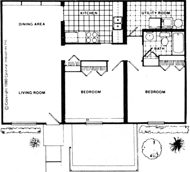 Two Bedroom Apartment For Fort Wayne