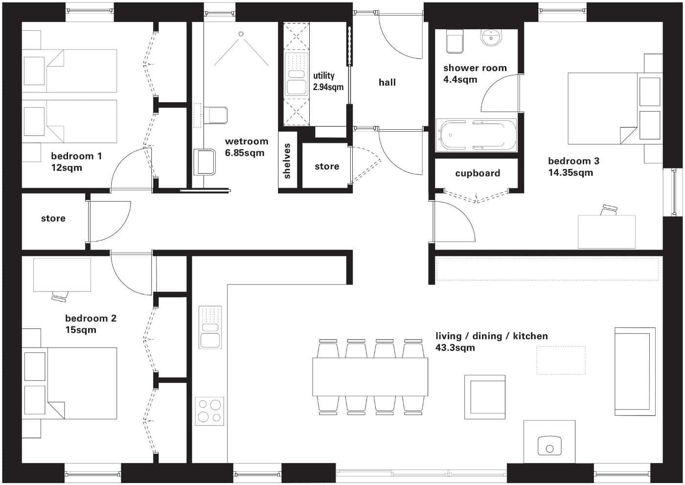 Kitchen Design 5m X 4m