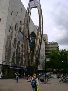Object bij Bijenkorf Rotterdam