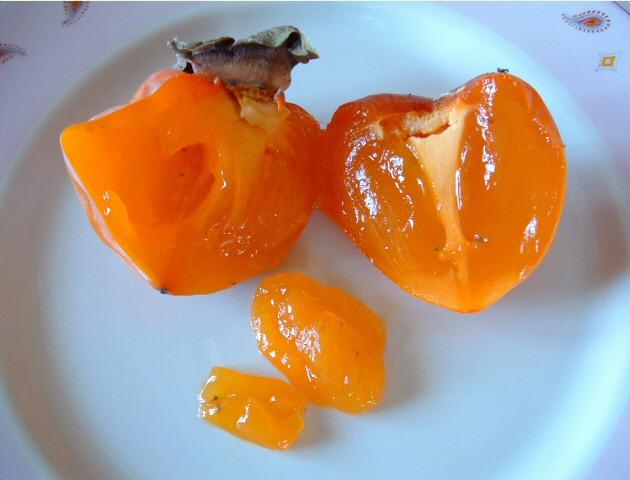 Le kaki le fruit dautomne pour faire le plein denergie