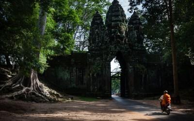 Porte Nord d'Angkor Thom – L'image expliquée –