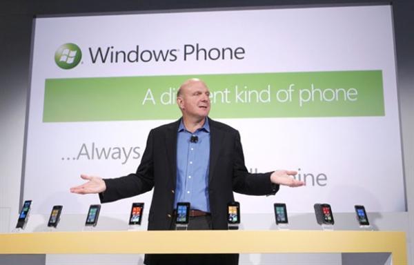 smartphones windows phone 7 ballmer
