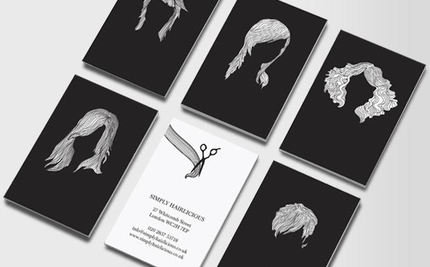Hair Stylist Business Cards  Business Card for Hair Salons  MOO  MOO Australia